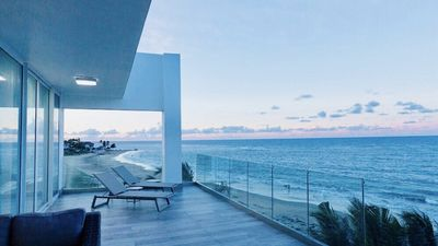 Photo for LUXURY BEACHFRONT PENTHOUSE  (4BR-4.5BA) - 4600 sq. ft + Roof deck