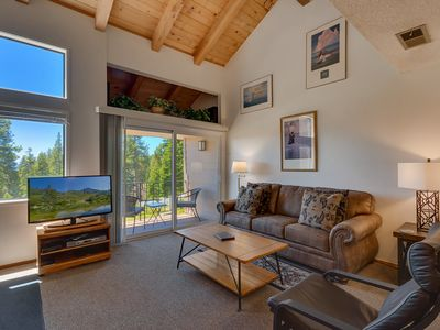 Photo for Alpenglow: 1  BR, 1.5  BA Condominium in Carnelian Bay, Sleeps 4