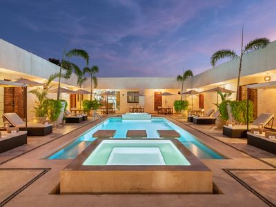 Photo for Avela Boutique Hotel Suite Saltwater Pool & Jacuzzi