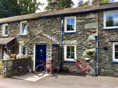Photo for The Old Cop Shop -  2-Bed cottage with log-burner, walking distance to boats and the Lake