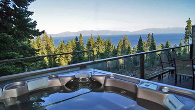 Photo for Lake Tahoe View w/hot tub, access to beach amenities, sleeps 20 w/Clearview 2!
