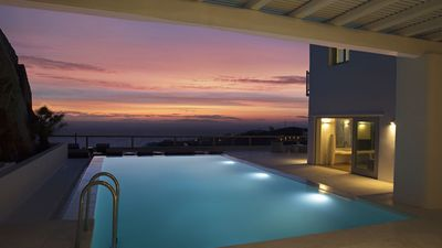 Photo for BETTER PRICES. EXCEPTIONAL PEOPLE. Mykonos Villa WHITE CUBE Private Pool 5br upto 11guests