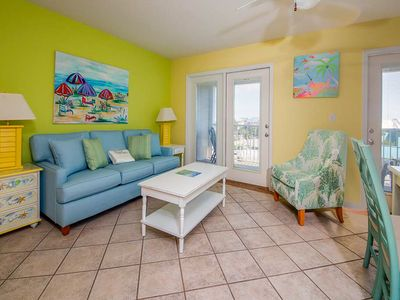 Photo for Airy, Coastal Condo w/ Steps To The Gulf, Quick Drive To Entertainment