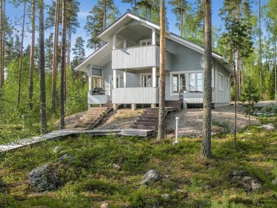 Photo for Vacation home A in Ruokolahti - 8 persons, 3 bedrooms