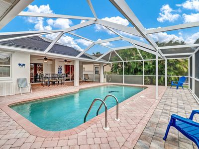 Photo for Newly Listed Desirable SW Cape Coral Gulf Access Home! Solar Heated Pool, Boat Dock, Lift & WiFi