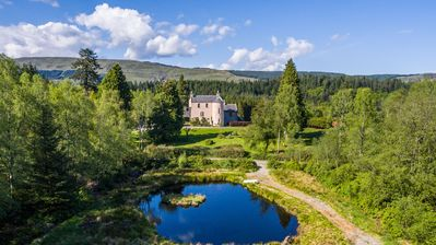 Photo for Duchray Castle - Renovated and Secluded 16th Century Medieval Castle