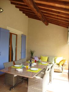 Photo for Planted and enclosed villa near the Alpilles, in the heart of Provence