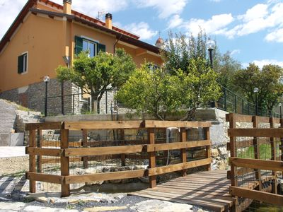 Photo for Apartment in detached house, tranquility just minutes from Alassio.