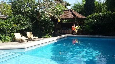 Photo for 3 bedroom Villa in Bali Sanur with big pool and Maid