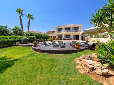 Photo for Gr8padz - Kapparis Palms Luxury 5 bedroom Villa with uninterrupted sea views.