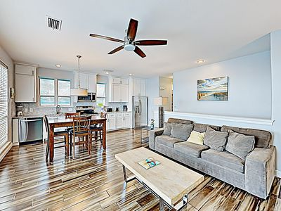 Photo for New Listing! Lakefront Villa w/ Pool & Balcony, Walk to Beach, Shops & Cafes