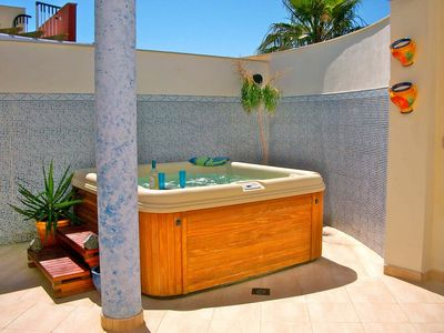 Private Hot Tub in Private Sun Terrace