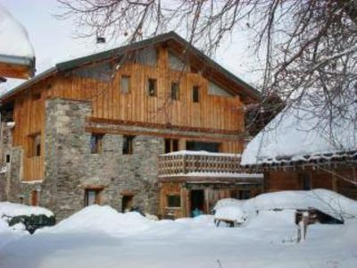 Photo for 300 sq.m chalet for 15 people, 5 bedrooms/bathrooms, near La-Plagne Montalbert.
