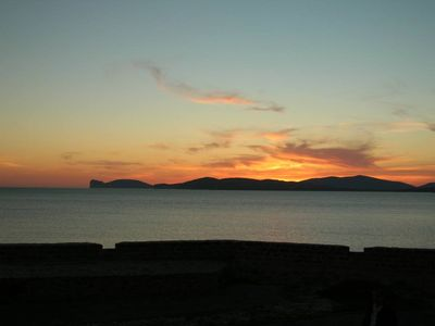 Photo for - Alghero : old town flat. Spetacular  view of sea