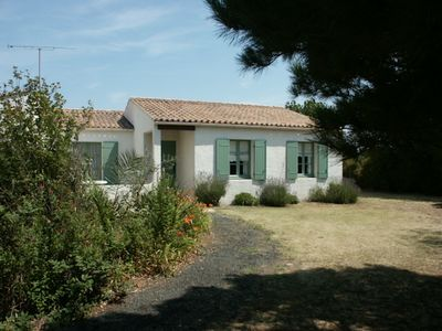 Photo for Family home at Portes en Ré on a large plot