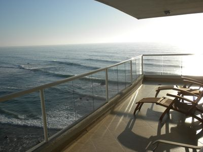 Photo for Beautiful Oceanfront Condo With 750 Square Foot Wrap Around Balcony