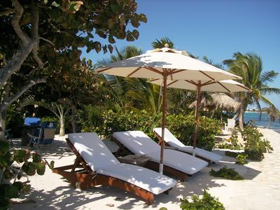 Photo for The only and most charming luxury beachfront cottage on the Riviera Maya