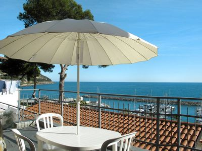 Photo for Apartment Baia dei Gabbiani  in San Lorenzo al Mare, Liguria: Riviera Ponente - 2 persons, 1 bedroom