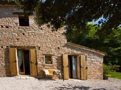Photo for Holiday apartment Acqualagna for 3 - 5 persons with 1 bedroom - Holiday apartment in one or multi-fa