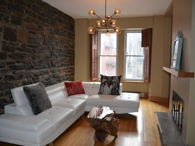 Photo for BEAUTIFUL HISTORIC HOME IN DOWNTOWN MONTREAL!