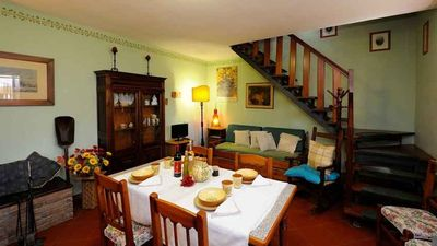 Photo for Il Boschetto del Lago Farmhouse - Rosmarino apt. with view on Trasimeno Lake