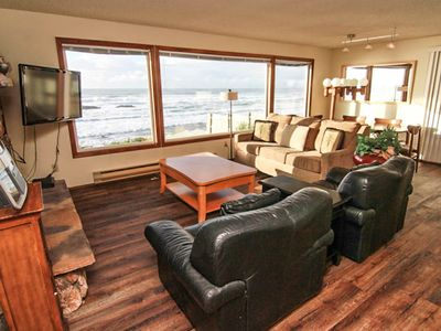 Photo for Ocean Front Hm Overlooking Miles of Sandy Beaches & the Pacific Ocean