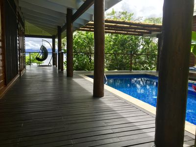 Photo for Chic Serene & Secluded Beachfront Villa (Your Own Private Resort)