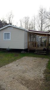 Photo for Homerez last minute deal - Beautiful bungalow with shared pool
