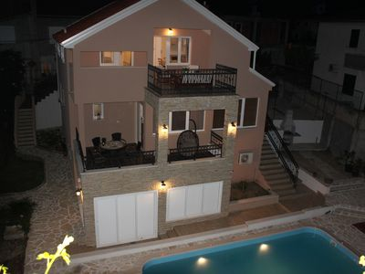 Photo for Lovely two storey holiday home with private pool and beatiful sea view terraces