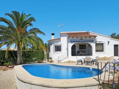 Photo for Vacation home Casa Alejandria (MRA210) in Moraira - 4 persons, 2 bedrooms