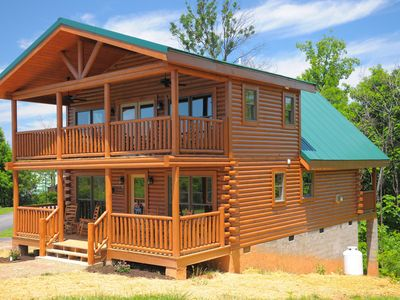 Photo for Brand New Cabin:Convenient to Everything the Smokies has to offer!