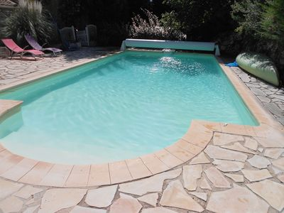 Photo for pretty villa at the foot of the low gorges du verdon