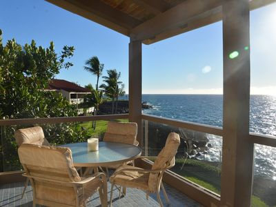 Photo for Amazing Oceanfront Corner Unit with Wrap-Around Lanai/New Kitchen & Bath