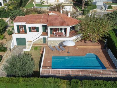 Photo for OFFER Villa with private pool and sea views 5 minutes from the beach