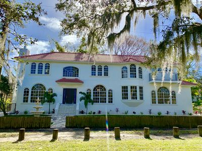 Photo for ** Tampa Riverfront Mansion ** Pool / Hot Tub / Kayaks / Pool Table