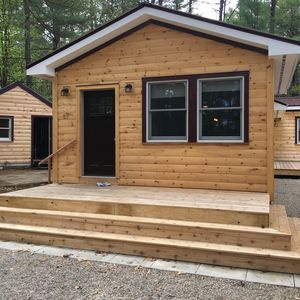 Photo for New Pine Cabin in the white mountains walk to white lake new
