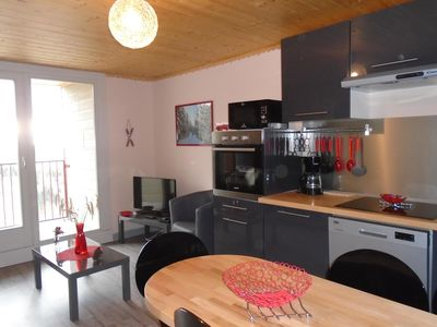 Photo for LIORAN T3 3 *, ski in, Chalet, Naturally Cantal