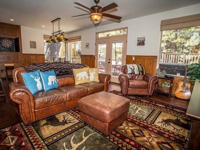 Photo for House 1.4 km from the center of Big Bear Lake with Parking, Internet, Washing machine, Balcony (983688)