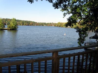 Lake from the side deck