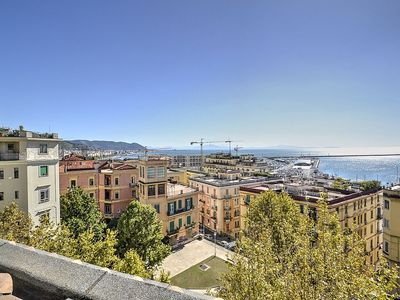 Photo for Suite Hermes: An elegant and modern studio apartment located in the center of Salerno, with Free WI-FI.