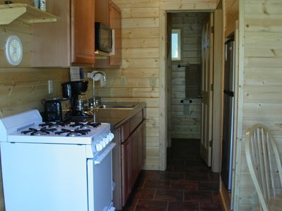 Photo for Klondike RV Park Cozy Cabin Across the Street from Kenai River