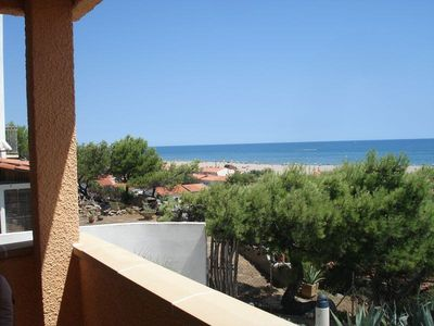 Photo for APPT T3-BEAUTIFUL TERRACE WITH BEAUTIFUL SEA VIEW OF SAINT PIERRE LA MER