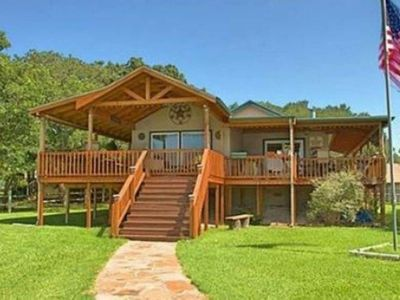 Lakefront home with HUGE deck and gorgeous water views!