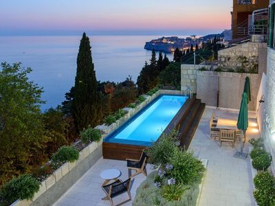 Photo for 442 m from the center of Dubrovnik with Internet, Pool, Air conditioning, Parking (740065)