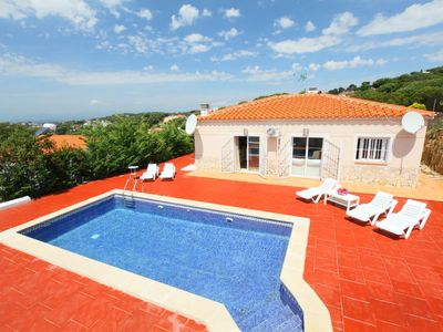 Photo for Lloret de Mar Holiday Home, Sleeps 7 with Pool, Air Con and Free WiFi