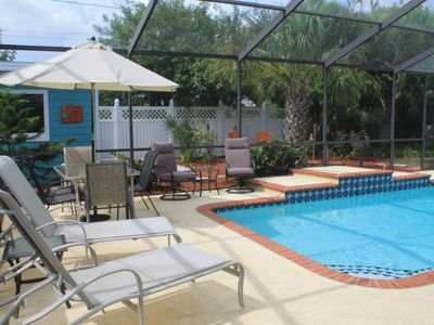 Photo for Beautiful Home,4BR/2BR With HEATED POOL, Near Famous Siesta Key & Lido Key Beach