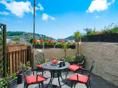 Photo for THE COTTAGE, 13 CLARENCE HILL, with a garden in Dartmouth, Ref 994526