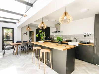 Photo for Beautiful, Modern 3 Bed With Garden In West Green - Three Bedroom House, Sleeps 5