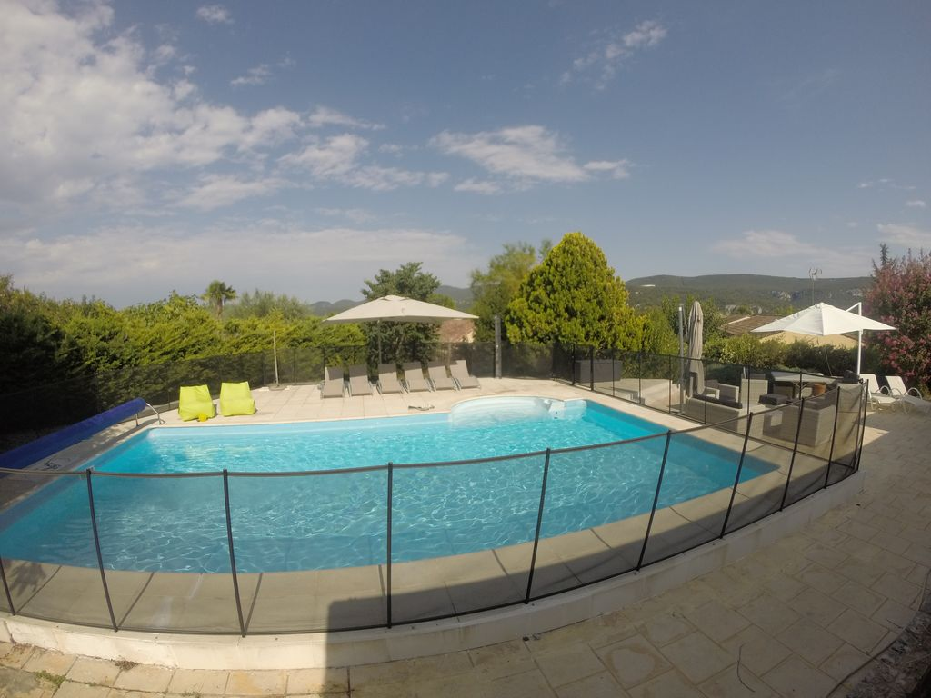 House with pool 10x5 50m in a beautiful valley for Gartenpool 10x5
