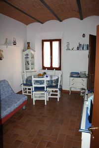 Photo for The red ladder, a small three-room apartment that has just been renovated, between the sea and the mountains